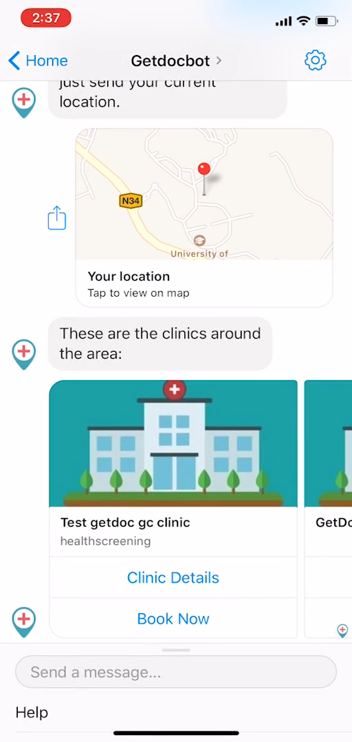 A Healthcare Chatbot - Jin Cong Ho
